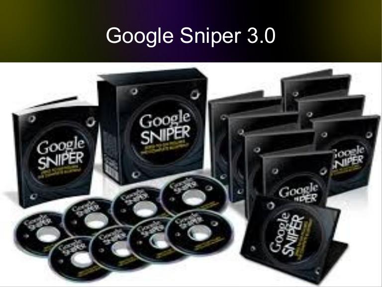 Google Sniper 3.0 e-cover