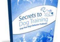 Secrets To Dog Training ebook cover