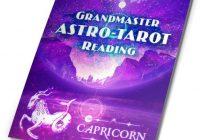 Grandmaster Astro-Tarot Reading Report PDF